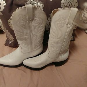 Durango cowgirl boots , Women's size 8